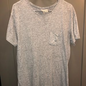 Men urban outfitters scoop neck t shirt